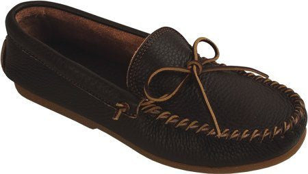 BazaarMPLS, Minnetonka Moccasin - Men's Street Moccasin - Dark Brown, Minnetonka Moccasin, shoes, Shop Minnesota Online, Shop Local MN