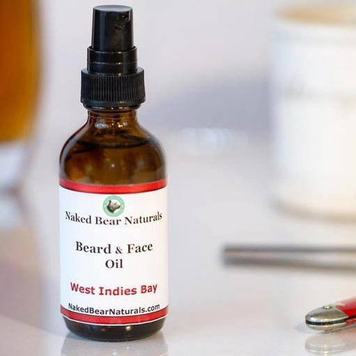 Naked Bear Naturals - Beard Oils