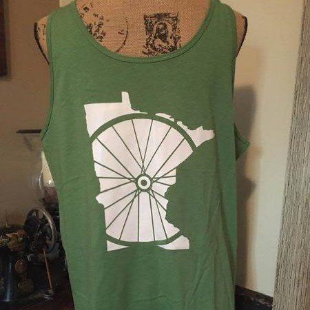 Something Borrowed - Minnesota Bike Wheel - Mens Tank