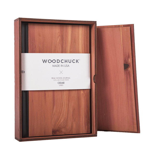 Wood Journal Box (Journal NOT Included) - Woodchuck USA