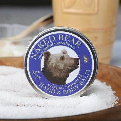 Naked Bear Naturals - Unscented Hand & Body Balms