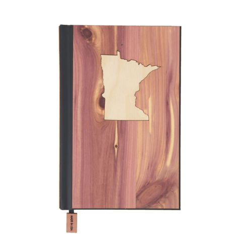 State Inlay Classic Wood Journal - woodchuckusa - 1