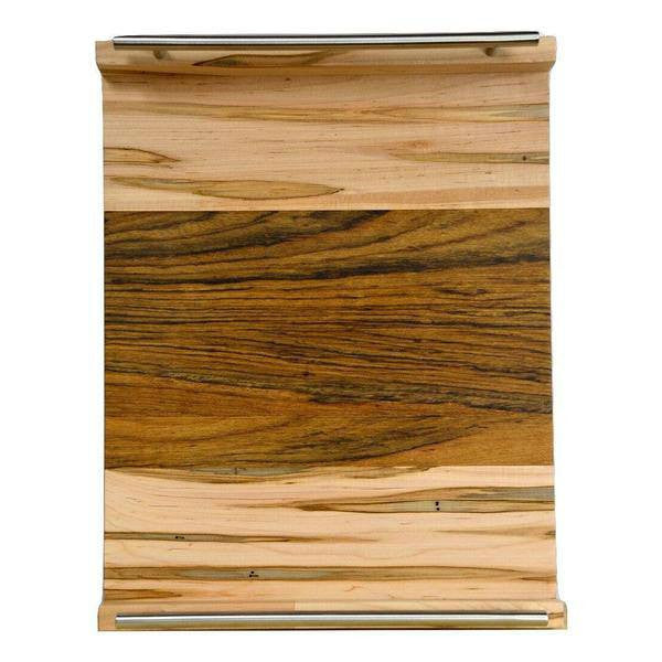 "Timber & Tulip - Callista Decorative Tray w/ Bar Handles 18"" -  Maple Ambrosia & Shedua"