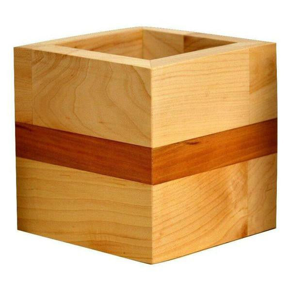 Timber & Tulip - Evie Planter - Oak & Cherry