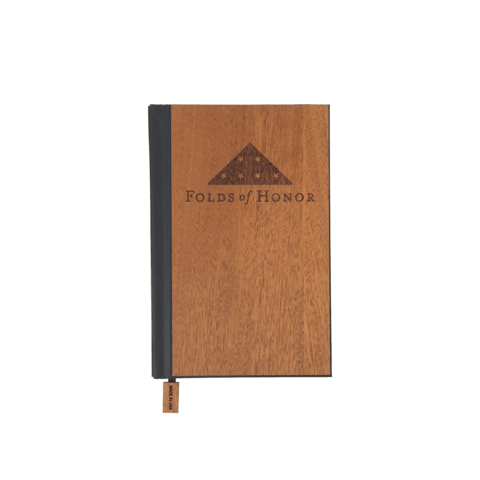 Wood Pocket Journal | Folds of Honor Edition - Woodchuck USA