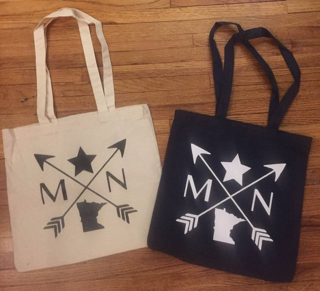 BazaarMPLS, Something Borrowed - Minnesota Compass - Tote, Something Borrowed, , Shop Minnesota Online, Shop Local MN