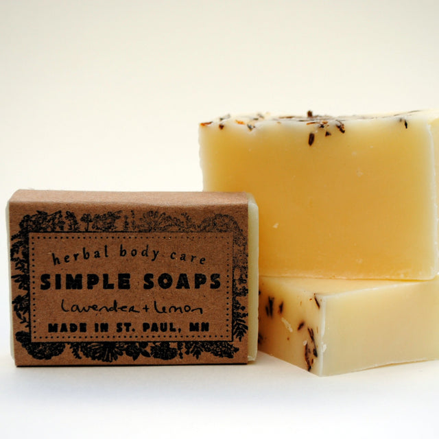 Simple Soaps - Lavender + Lemon Everyday Bar