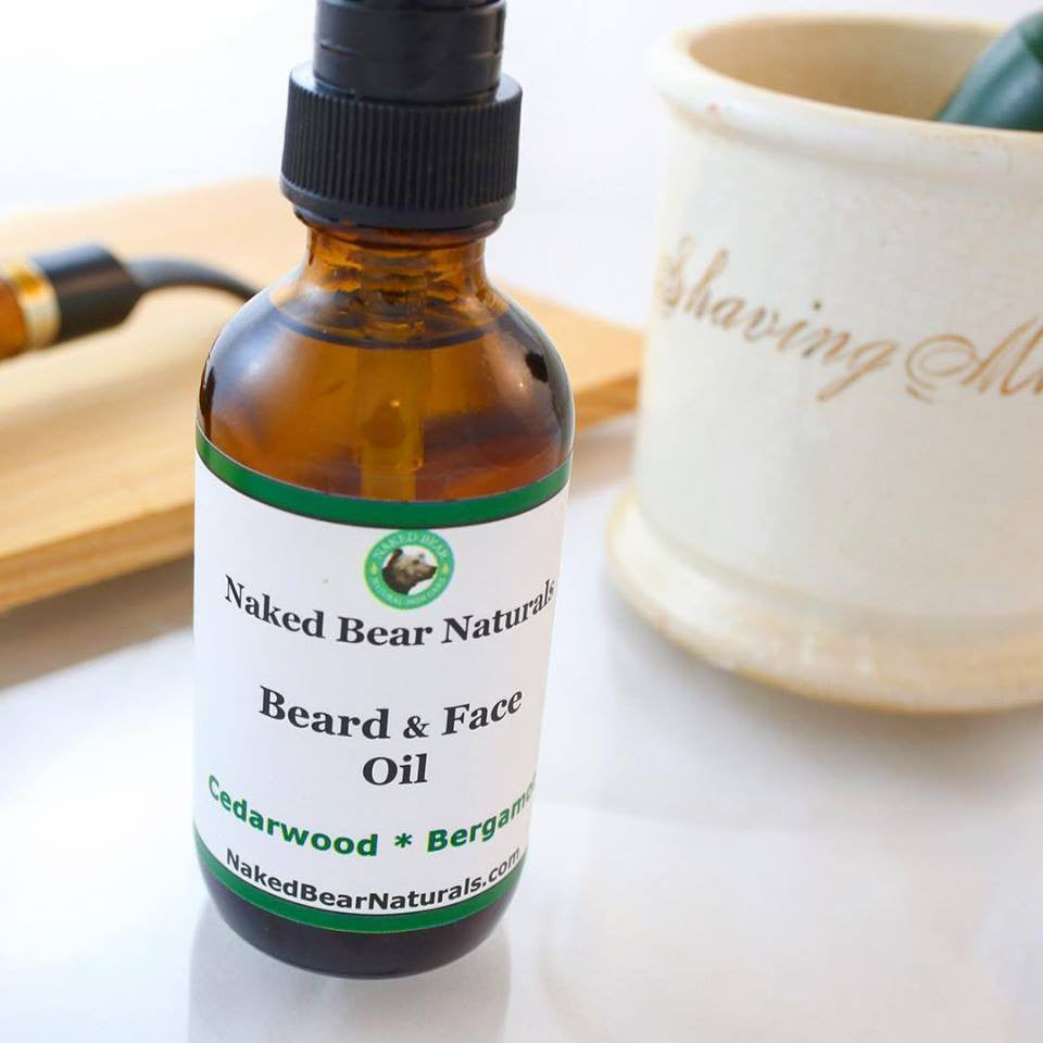 BazaarMPLS, Naked Bear Naturals - Beard Oils, Naked Bear Naturals, Personal Care, Shop Minnesota Online, Shop Local MN
