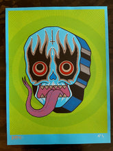 SNAKE TONGUE SCREEN PRINT