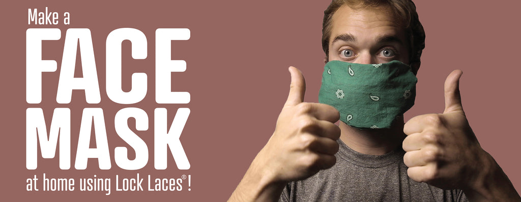 How to make a Face Mask with Lock Laces®