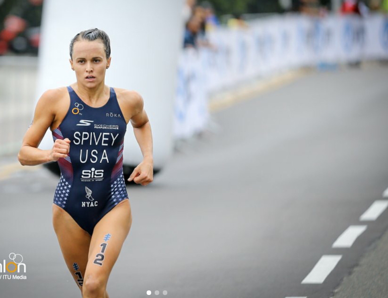 Team USA Triathlete, Taylor Spivey, becomes a Lock Laces® Pro ambassador