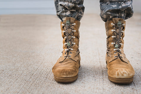 Camo Boot Lace