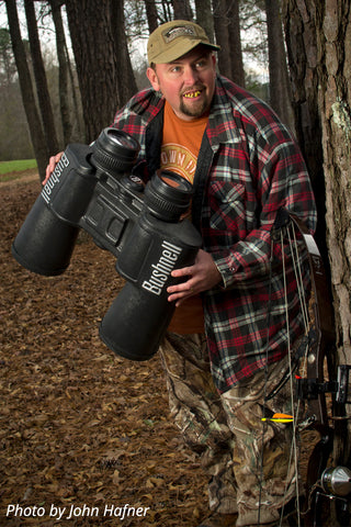 "Travis ""T-Bone"" Turner embraces his character as ""T-Bone"" for Realtree's television show ""Monster Bucks"""