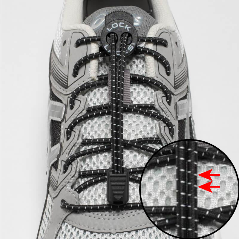 lock laces tracers