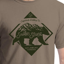 Smokies Strong Short Sleeve Shirt (Brown Savana)