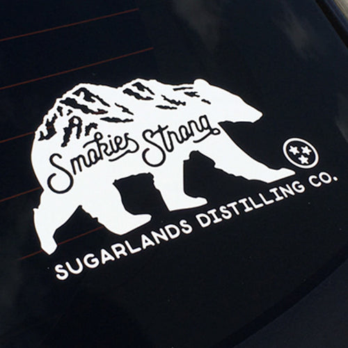 Smokies Strong Window Decal