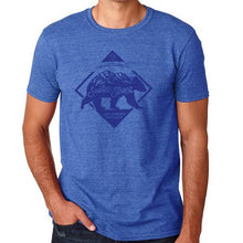 Smokies Strong Short Sleeve Shirt (Heathered Royal Blue)