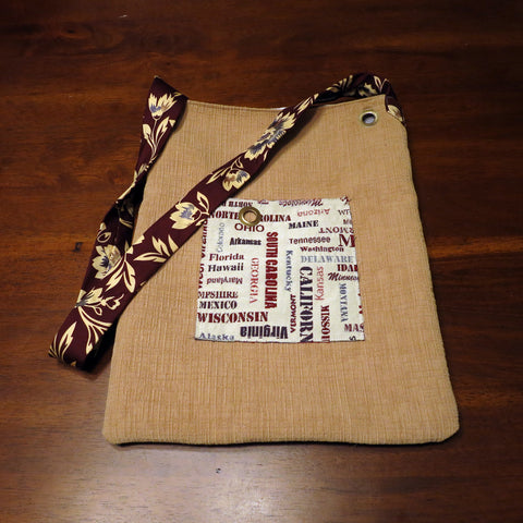 Upcycled Upholstery Purse