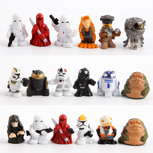 Star Wars Black Series Minifigure toy set (18 pcs) | Star Wars Force Awakens Action Figure