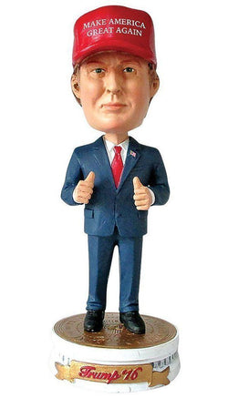 2016 President Donald Trump Make America Great Again Limited Edition Bobblehead miniFigure