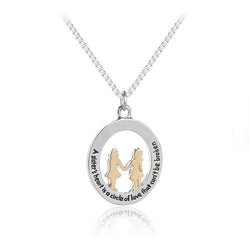 Circle of Love Sister Necklace