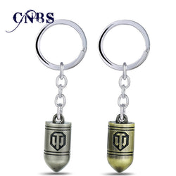 World of Tanks Keychain | Metal Key Chain for men or women (2 colors)