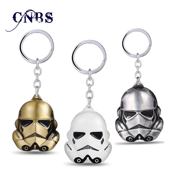 Star Wars Metal Alloy Stormtrooper Keychain | Metal Key Chain (3 colors)