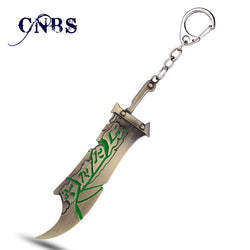 League of Legends LOL Exile Riven Metal Keychain