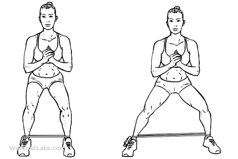 Hip growth exercises