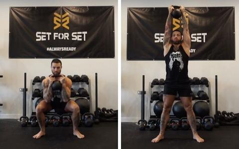 Kettlebell exercises for legs and glutes