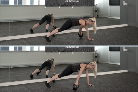 ab workout with kettlebell