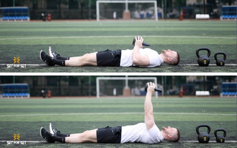 are kettlebells good for triceps