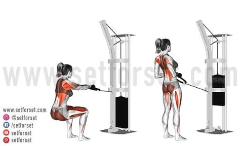 back exercises with cables