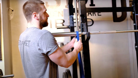 banded barbell exercises