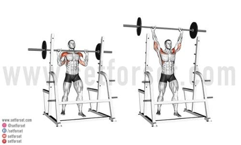 barbell front deltoid exercises