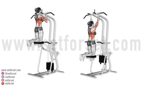 assisted pull up alternative