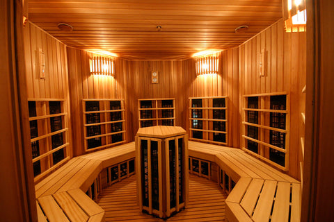benefits of infrared sauna vs dry sauna
