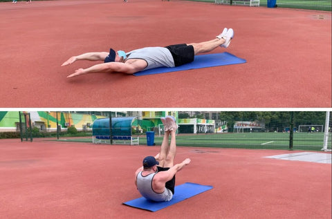 best core strength exercises