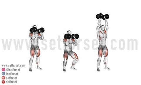 combo exercises with weights