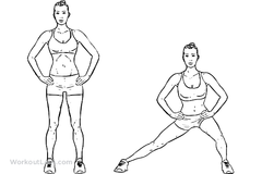 buttocks exercises at home