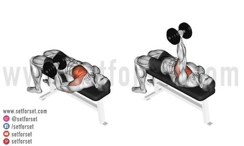 chest exercises with one dumbbell