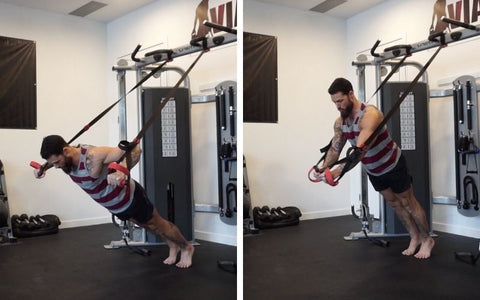 chest exercises with suspension trainer