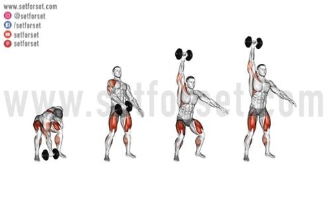 complex dumbbell workout
