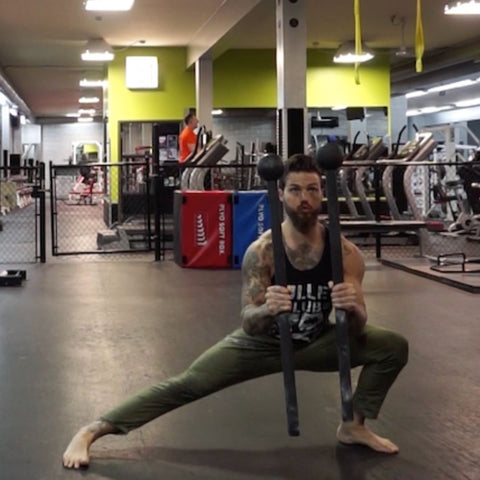 double macebell workout