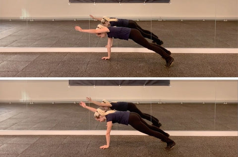 exercise plank variations