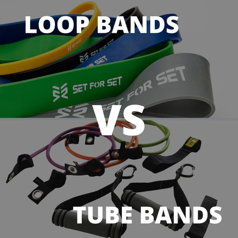 flat vs tube resistance bands