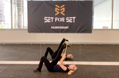 flexibility exercises with bands