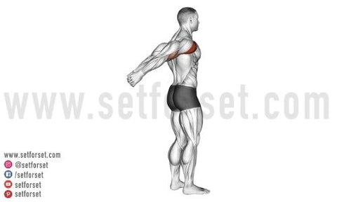 front deltoid stretching