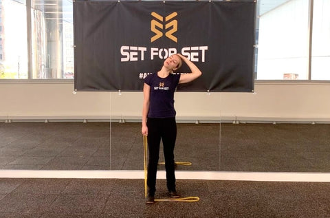 full body resistance band stretching routine