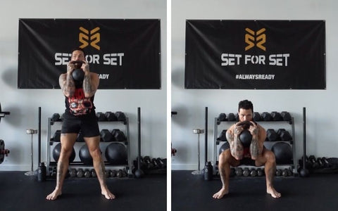 hiit with kettlebell